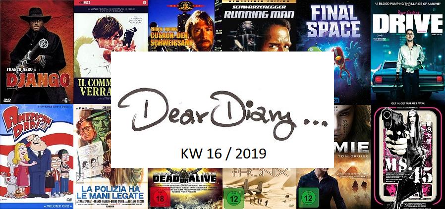 Filmtagebuch Kalenderwoche 16 / 2019